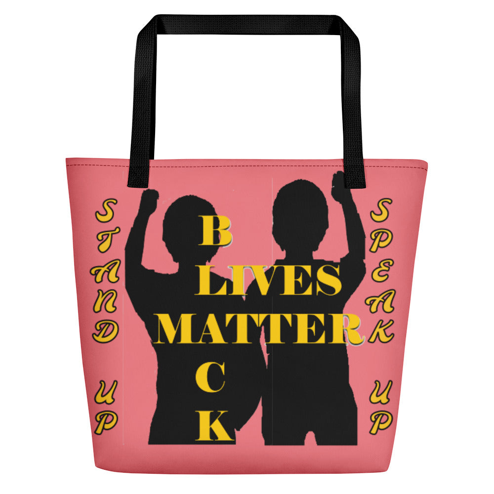 Black Lives Matter Beach Bag