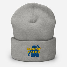 Load image into Gallery viewer, Man of Valor Cuffed Beanie