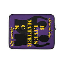 Load image into Gallery viewer, Black Lives Matter Laptop Sleeve - Shannon Alicia LLC