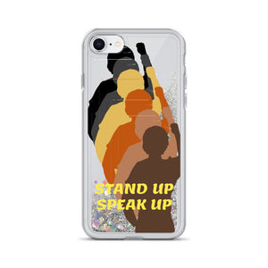 Stand Up Liquid Glitter Phone Case