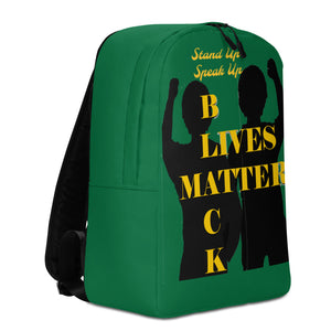 Black Lives Matter Minimalist Backpack