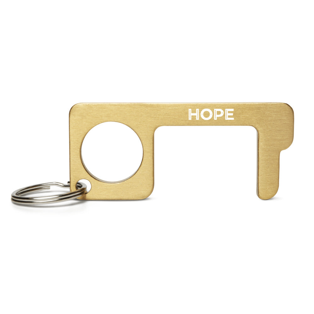 Hope Engraved Brass Touch Tool