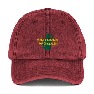 Virtuous Woman Vintage Cotton Twill Cap