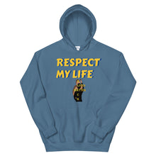 Load image into Gallery viewer, Respect My Life Unisex Hoodie