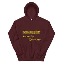 Load image into Gallery viewer, Equality Unisex Hoodie