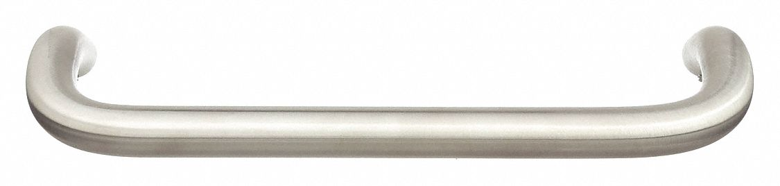 ROCKWOOD BF161C17.32D Door Pull,  Stainless Steel,  10 in CTC, Concealed, Single Pull