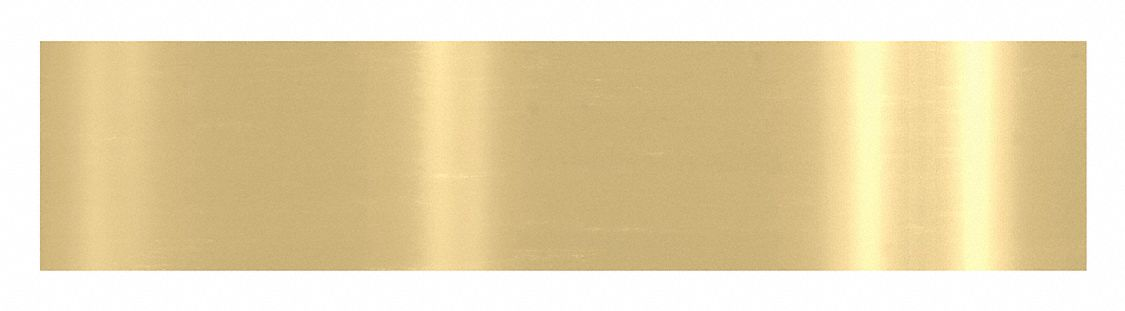 ROCKWOOD K1050 8 X 34.3 MAGNETIC Door Protection Plate, Brass, Magnetic, 8 in Height, 34 in Width