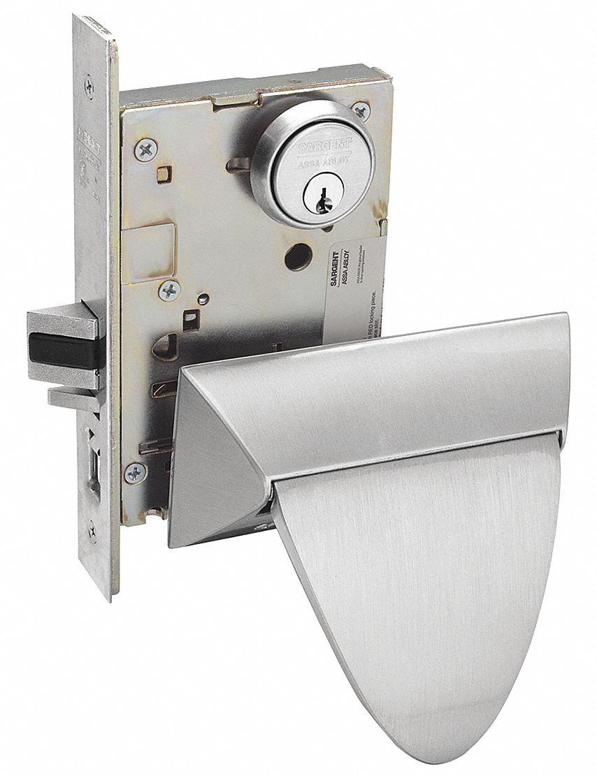 SARGENT SG-8255ALP-32D LH W INSIDE TURN PIECE Mortise Lock, Push/Pull, Entrance/Office