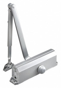 NORTON CA1601 x 689 Automatic/Manual Hydraulic Norton 1601-Series Door Closer, Heavy Duty Interior and Exterior, Silver