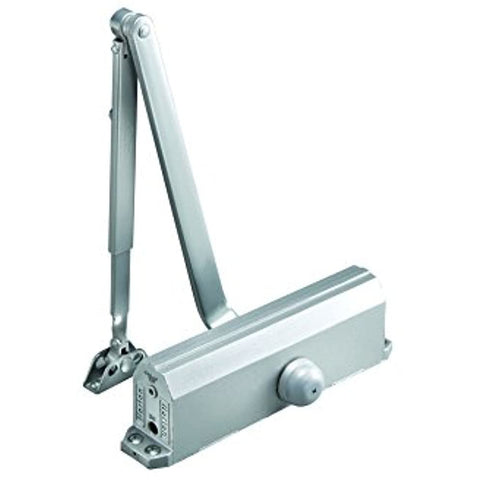 NORTON DOOR CONTROLS 1601-689 Norton Adjustable Streamline Door Closers #1601 Aluminum, Adjustable Size 3 Through 6