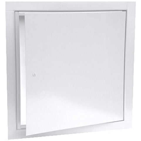 "JL Industries 9TM 18"" x 18"" Flush Universal Access Door Panel, WHITE"