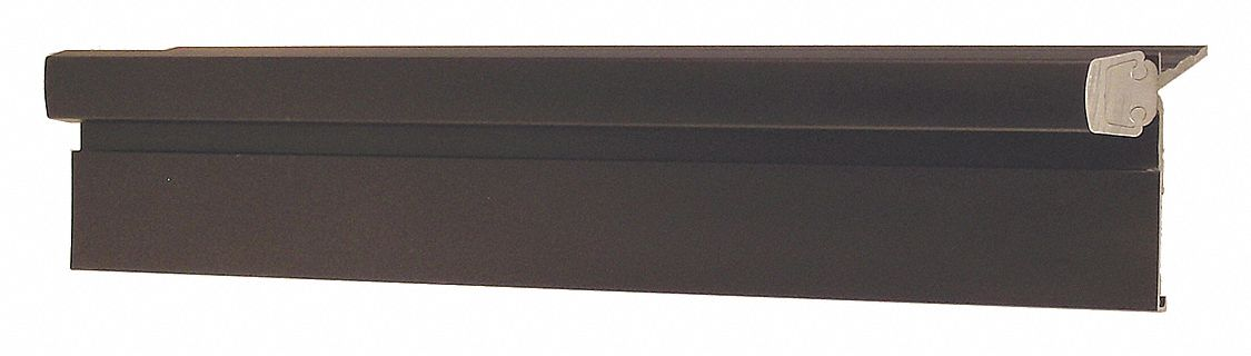 PEMKO DHS83HD1-HT-RH 108 ° Continuous Hinge With Holes, Dark Bronze, Door Leaf: 83 in x 1 7/8 in W
