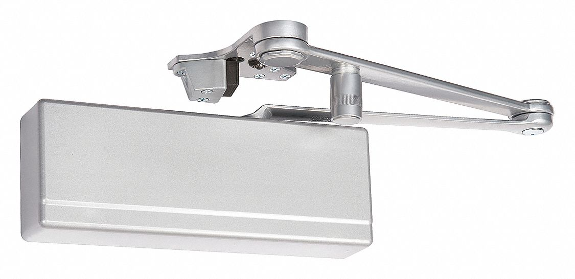 SARGENT 281 CPSH TB EN Manual Hydraulic Sargent 281-Series Door Closer, Heavy Duty Interior and Exterior, Silver