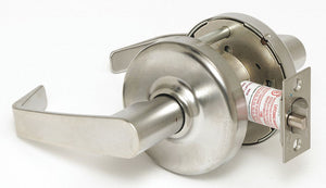 CORBIN CL3340NT NZD 626 Lever,  Mechanical,  Extra Heavy Duty,  Satin Chrome,  2 3/4 in Backset,  Cylindrical