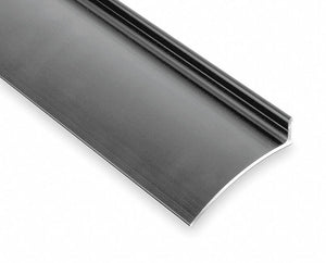 PEMKO 346C40 Clear Anodized Door Drip Edge, Flange Height 19/32 in, Projection 2 1/2 in, Length 40 in