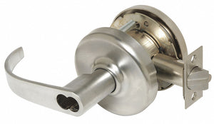 CORBIN CL3391 PZD 626 M08 Lever Lockset,  Mechanical,  Extra Heavy Duty,  Not Keyed,  Satin Chrome,  2 3/4 in Backset