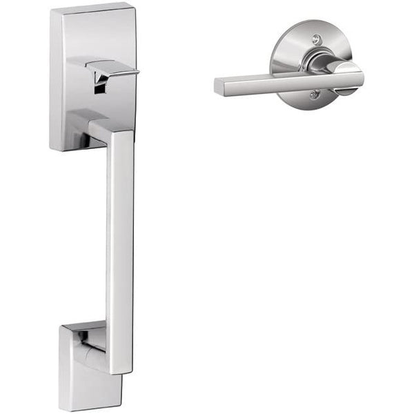 Schlage LOCK FE285 CEN 619 LAT Century Front Entry Handle Latitude Interior Lever (Satin Nickel)