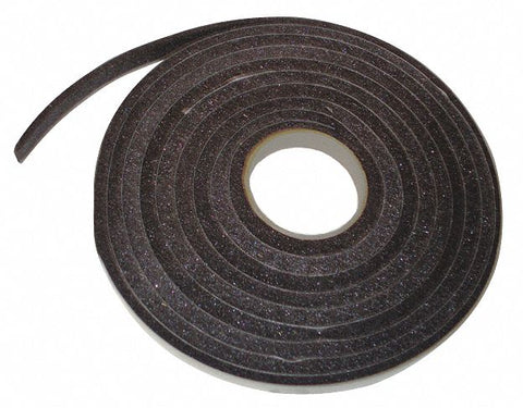 "Door Frame Weatherstrip, 84"" Overall Length, Adjustable Insert Type, Cellular Rubber Insert Material"