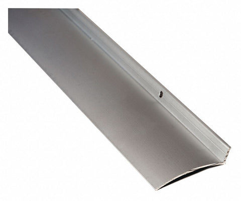 "Anodized Rain Drip Guard, Flange Height 5/8"", Projection 2-1/2"", Length 40"""