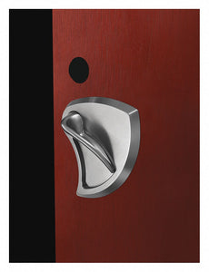 CORBIN ML2051 BHSS 630 RH LC Door Lever Lockset,  Mechanical,  Standard Duty,  Not Keyed,  Stainless Steel,  2 3/4 in Backset