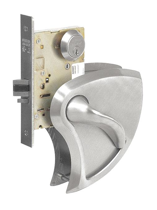 SARGENT 8204 BHW 32D LH Storeroom or Closet Lock Function,  Grade 1,  Interior and Exterior Trim for Exit Device
