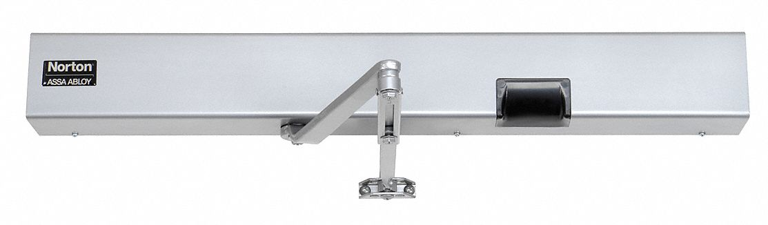NORTON DOOR CLOSERS 7123SZ x LH x 24VDC x 689 Manual Hydraulic Norton 7123-Series Electro-Mechanical Door Closer, Heavy Duty Interior and Exterior