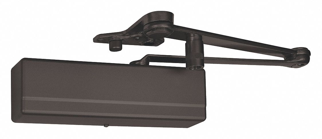 SARGENT 1431-PSH EB Manual Hydraulic Sargent 1431-Series Door Closer, Heavy Duty Interior and Exterior, Dark Bronze