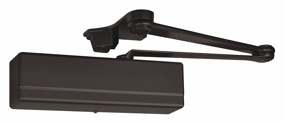SARGENT 1431-CPS-EB Automatic/Manual Hydraulic Sargent 1431-Series Door Closer, Heavy Duty Interior and Exterior, Dark B