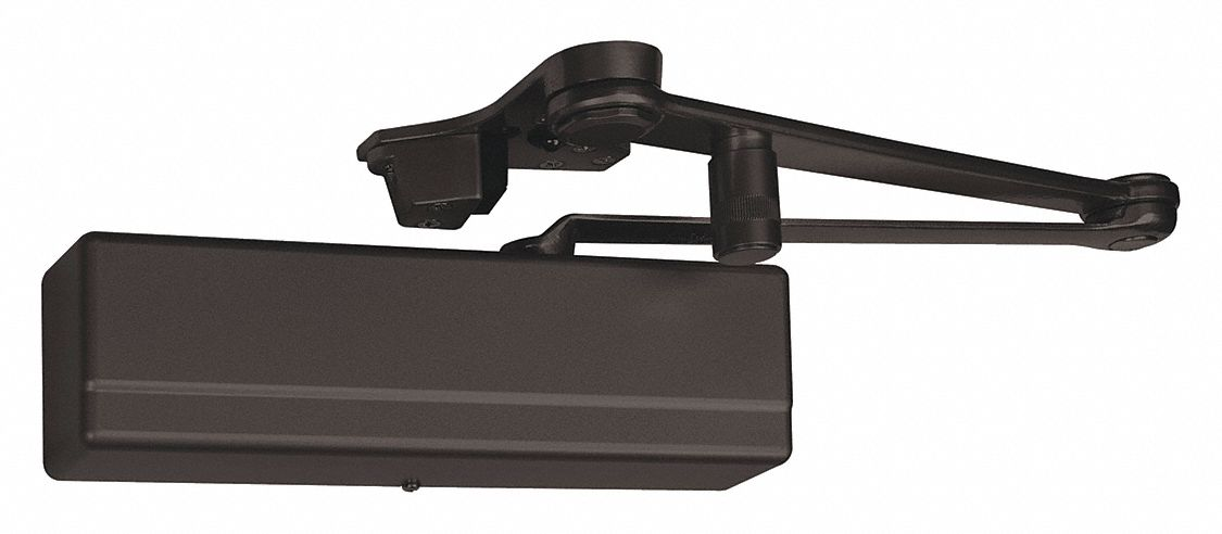 SARGENT 1431-CPSH-EB Automatic/Manual Hydraulic Sargent 1431-Series Door Closer, Heavy Duty Interior and Exterior, Dark B