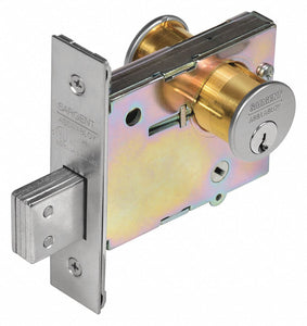 SARGENT 4874 26D Deadbolt,  Cylindrical,  Commercial, Industrial, Institutional, Residential,  1,  480