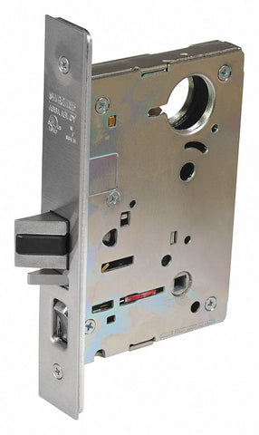 CORBIN BP-8255 26D Mortise Lockset,  Mechanical,  Heavy Duty,  Not Keyed,  Satin Chrome,  2 3/4 in Backset,  Mortise