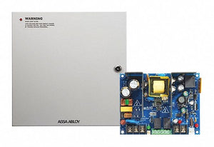 SECURITRON AQD2-8F1 Steel Power Supply with Powder Coated Finish
