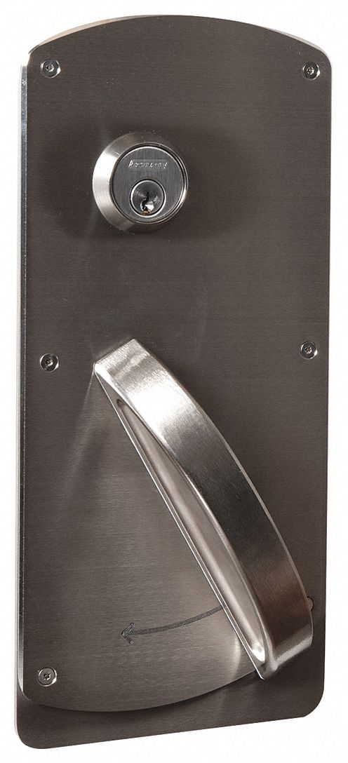 SCHLAGE L9080P HSLR 630 RH Lever Lockset,  Mechanical,  Standard Duty,  Keyed Alike,  Stainless Steel,  2 3/4 in Backset
