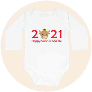 2021 Happy Year of the Ox - Long Sleeve