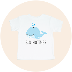 Big Brother Whale - Toddler Tee