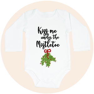 Kiss Me Under the Mistletoe - Long Sleeve