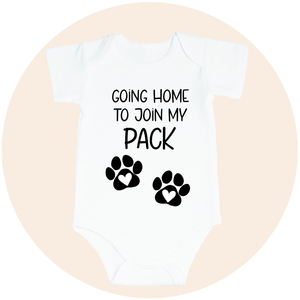 Going Home to Join the Pack (Option to Personalize)