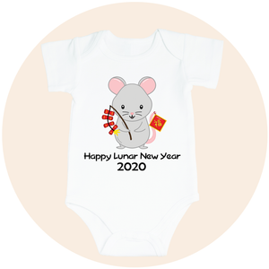 Happy Lunar New Year 2020 Year of the Rat