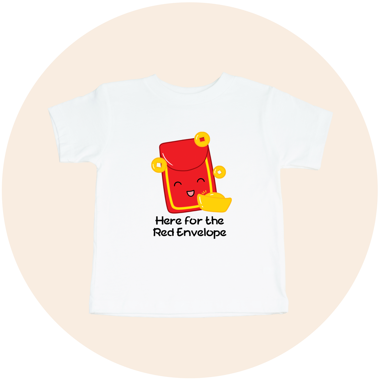 Here for the Red Envelope - Toddler Tee