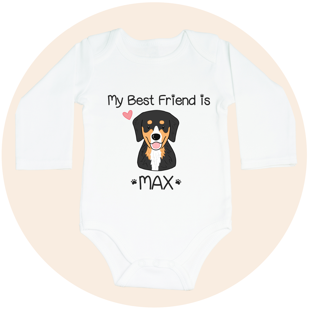 Custom Pet Long Sleeve Onesie -