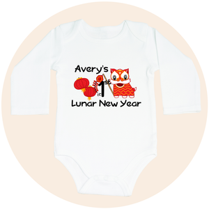 My First Lunar New Year (Option to Personalize) - Long Sleeve
