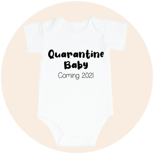 Quarantine Baby Personalized Pregnancy Announcement