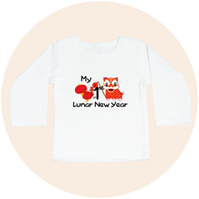 Load image into Gallery viewer, My First Lunar New Year (Option to Personalize) - Toddler Long Sleeve