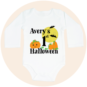 My First Halloween (Option to Personalize) - Long Sleeve