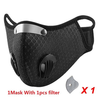 Outdoor Filter Protective Gear Mask