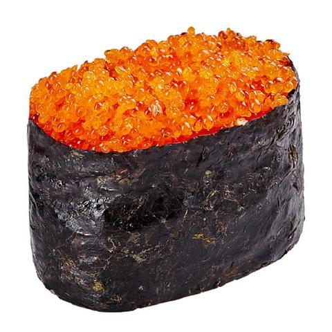 Tobikko Flying Fish Roe Sushi Caviar Orange