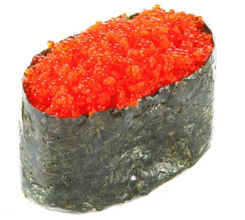 Tobikko Flying Fish Roe, Sushi Caviar, Red