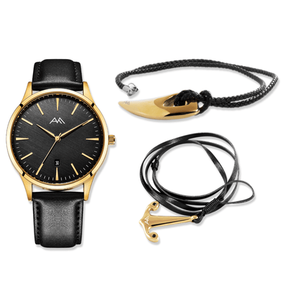 Rugged Look Collection - Gold