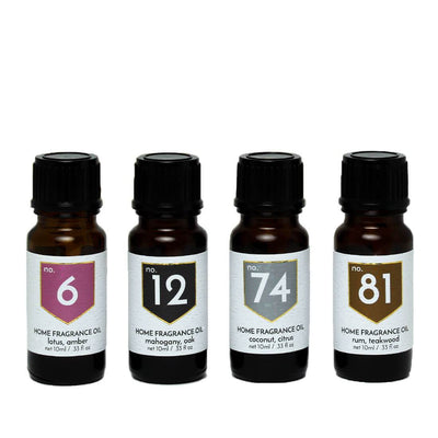 Exotic Scented Home Fragrance Diffuser Oils Gift Set - A C D C