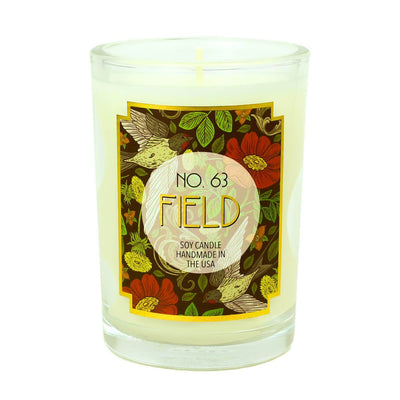 Field Scented Soy Wax Candle - A C D C